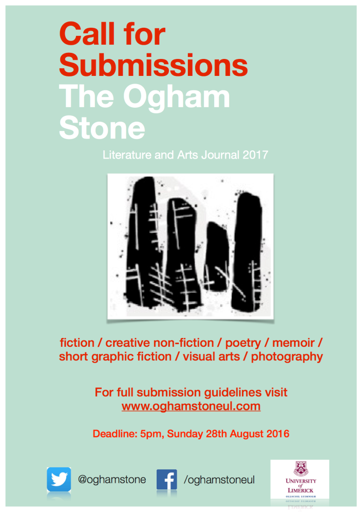 The Ogham Stone Call for Submissions | Writing ie